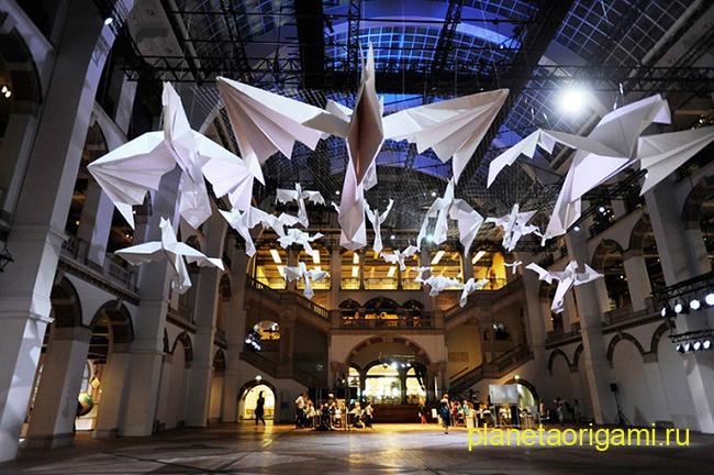 Оригами гигантские птицы Sipho Mabona