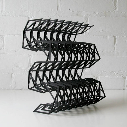 Бумажные скульптуры от Matt Shlian