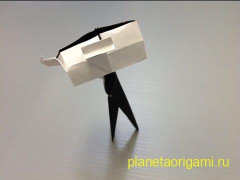 телескоп из бумаги
