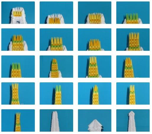сборка модульной эйфелевой башни