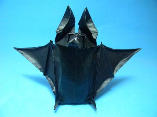 оригами летучая мышь by Tom Defoirdt1