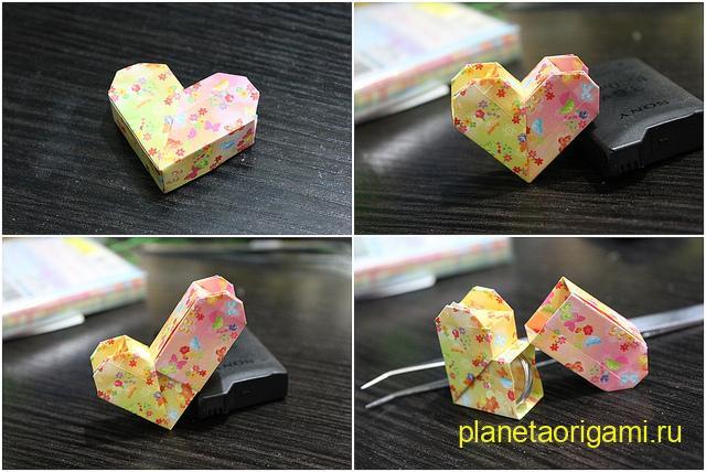коробочка сердечко