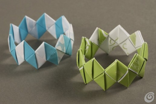 браслеты оригами