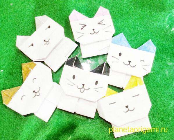 бумажные котики