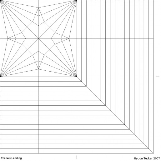 Landing Crane pattern