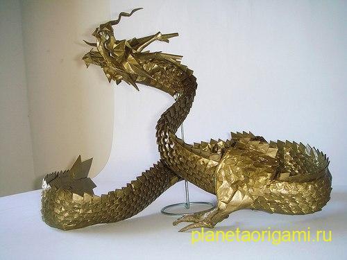 dragon RyuJin origami