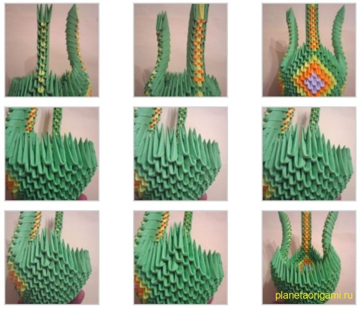 Как сделать из оригами дракона из модулей - Nationalparks.ru