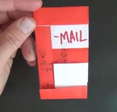 Простой конверт для e-mail от Джереми Шейфера