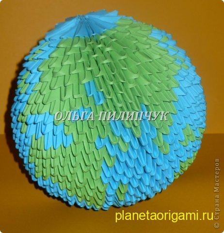 глобус из модулей