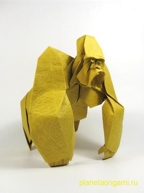 бумажная горилла