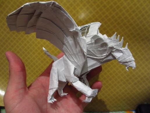 грифон оригами