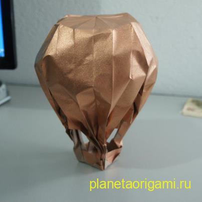 Воздушный шар по схеме Jason Lin