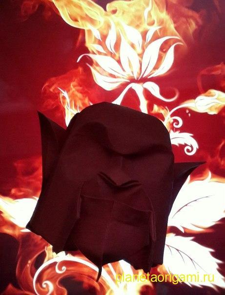 оригами голова человека