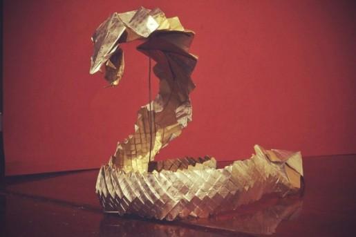 адская кобра оригами