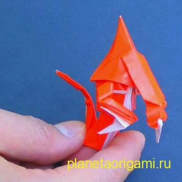 гидралиск оригами