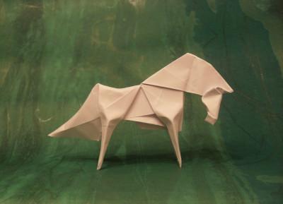 бумажная лошадь от  Fabian Correa