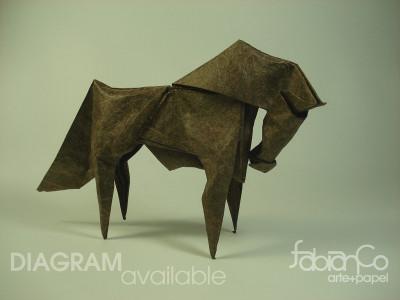 Модель лошади по схеме Fabian Correa
