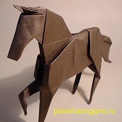 оригами лодашь от хидео коматсу