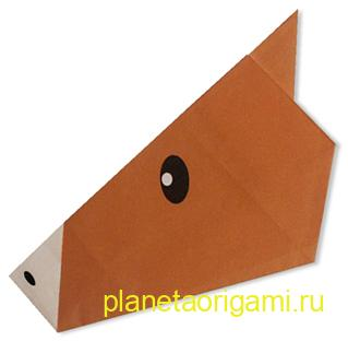 лошадиная голова оригами
