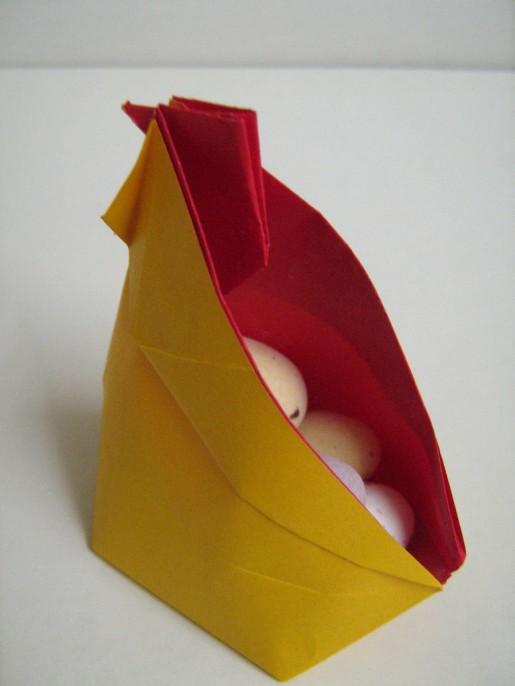 бумажный петух