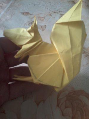 оригами белка