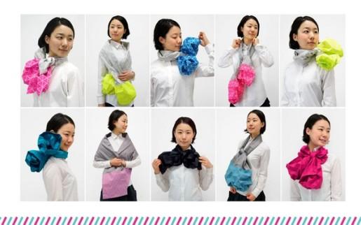 kaku-kaku оригами шарф