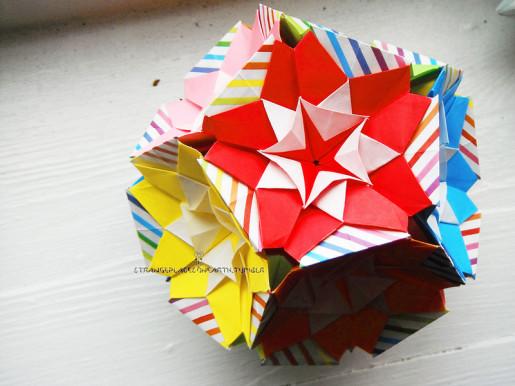 Kaleidodama оригами