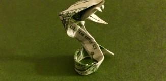 Кобра из доллара по схеме Vu Dung