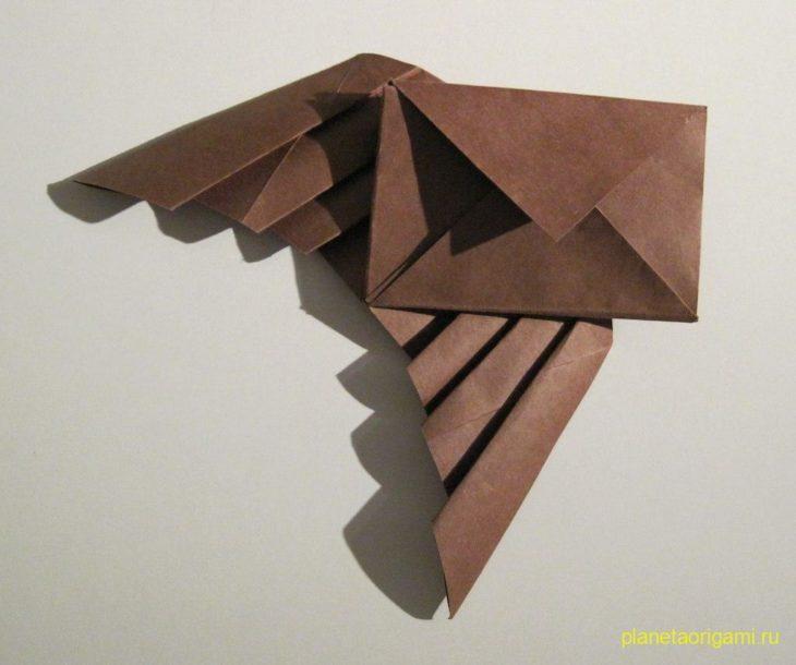 конверт с крыльями