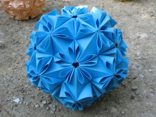 loop кусудама оригами