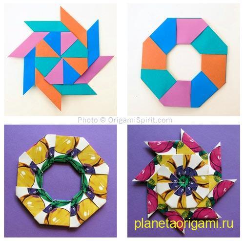 оригами магический трансформер