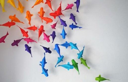 как хранить оригами
