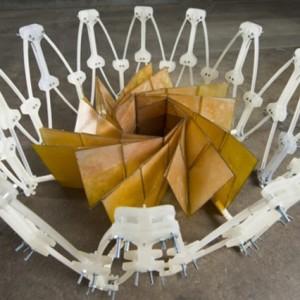 Прототип солнечных оригами-панелей