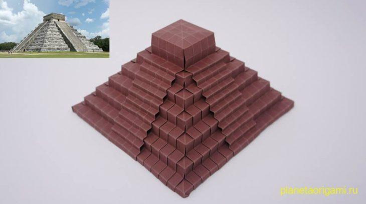 самодельная пирамида