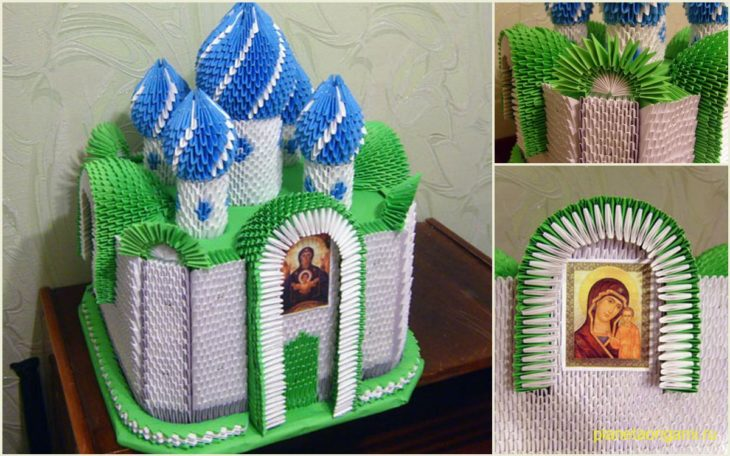 Оригами церковь схема сборки фото 268
