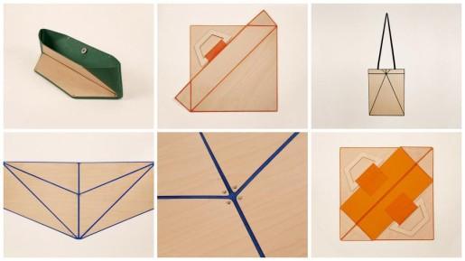 сумка оригами