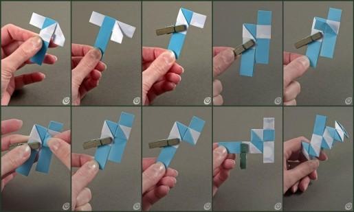 оригами браслет мастер класс