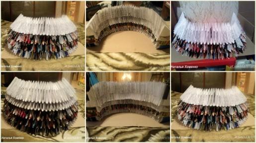 сборка платья из модулей