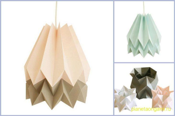 законам оригами получила