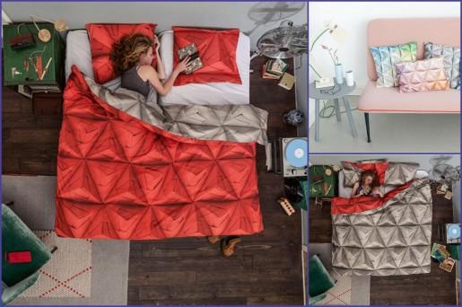 оригами постель