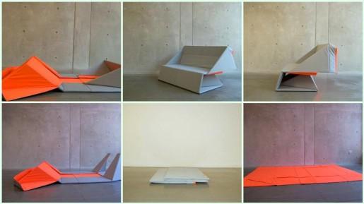 оригами диван