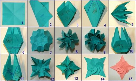 Как сделать красивые поделки из оригами 48