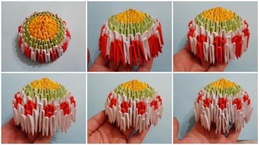 сборка пасхального яйца из модулей
