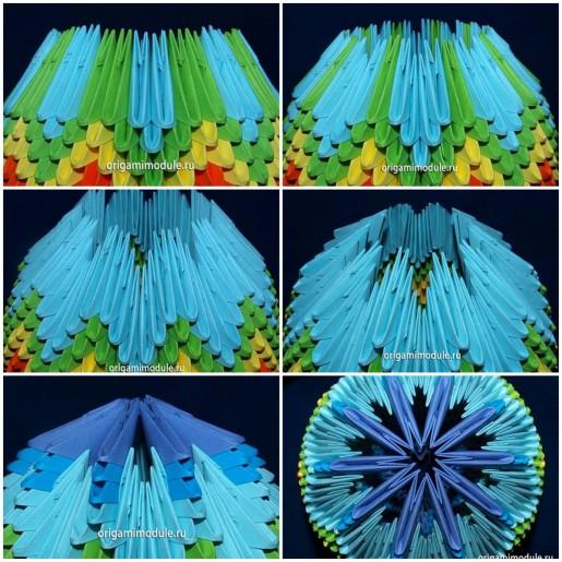 сборка модульного пасхального яйца