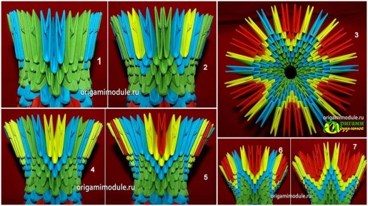 сборка подставки для модульного яйца