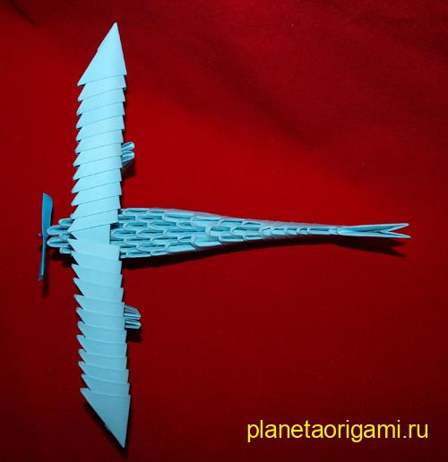 самолет из модулей