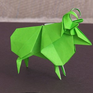 Овца по схеме Jun Maekawa