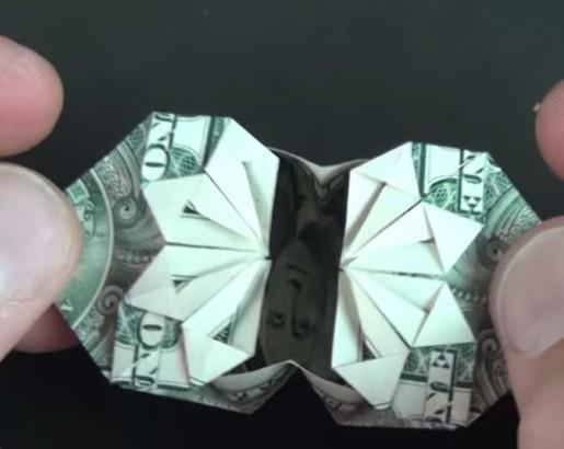 коробочка из доллара от Jeremy Shafer