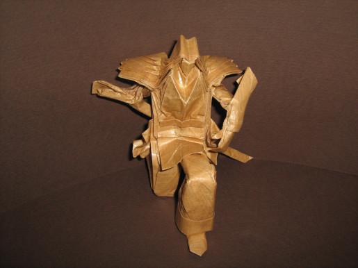 оригами мечник