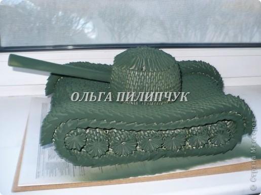танк из модулей